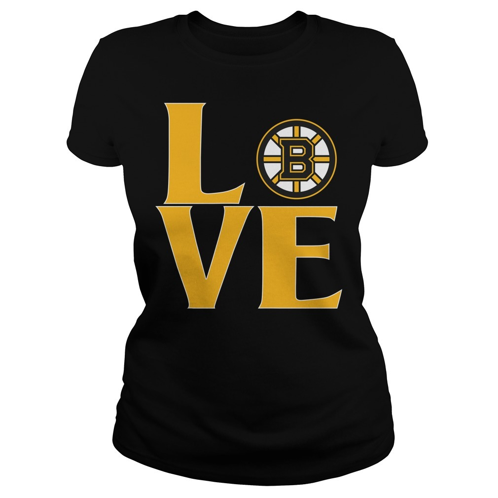 Bruins love Ladies Tee