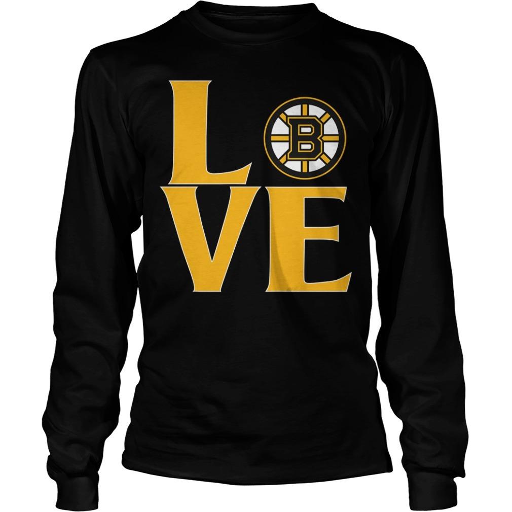 Bruins love Longsleeve Tee