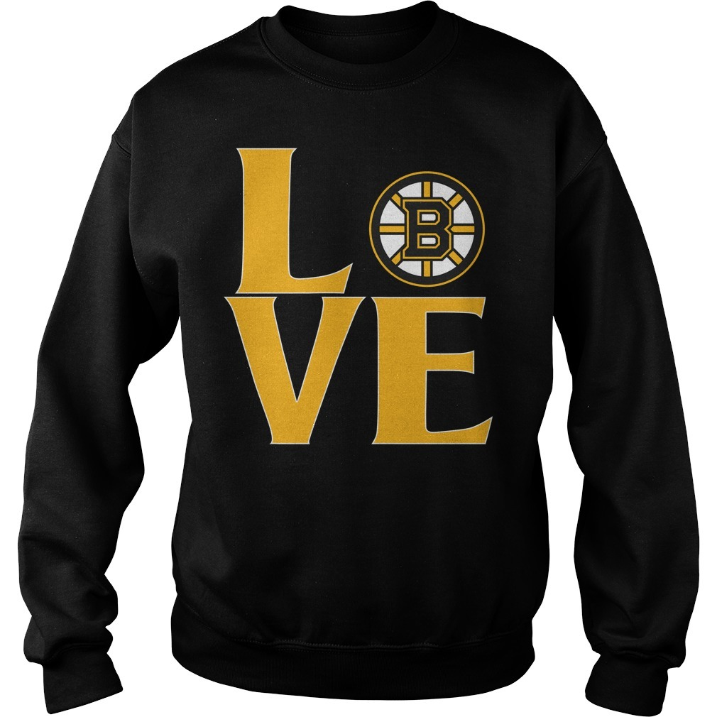 Bruins love Sweater