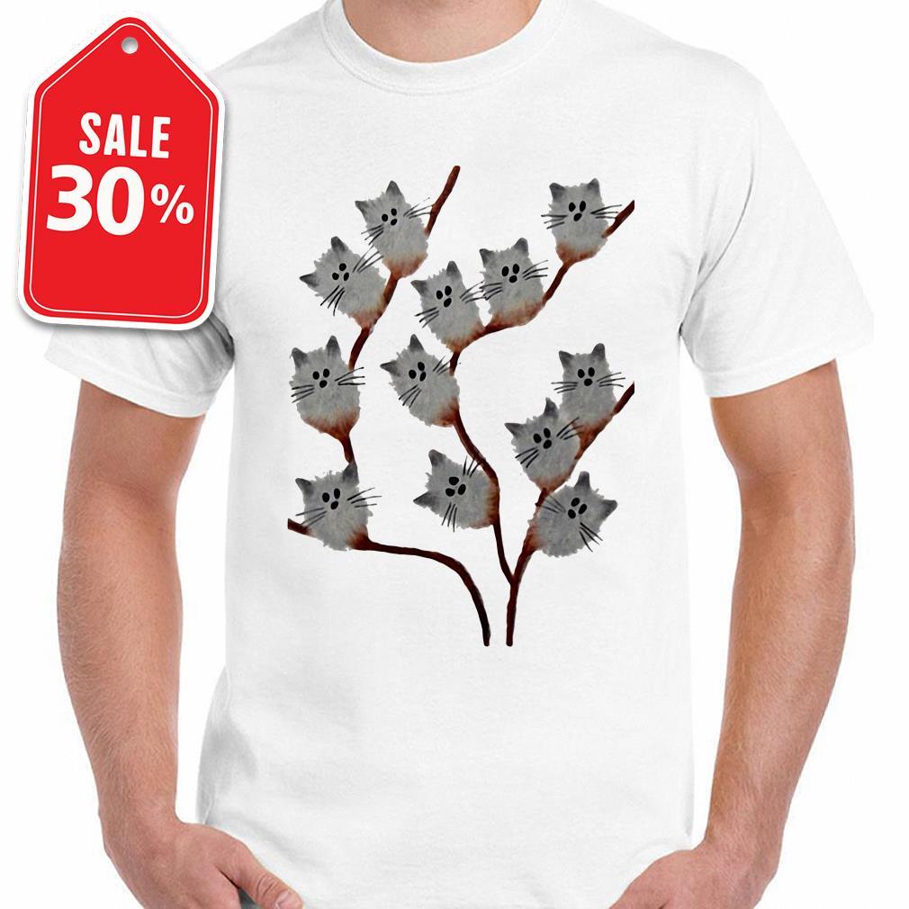 Cats on tree shirt