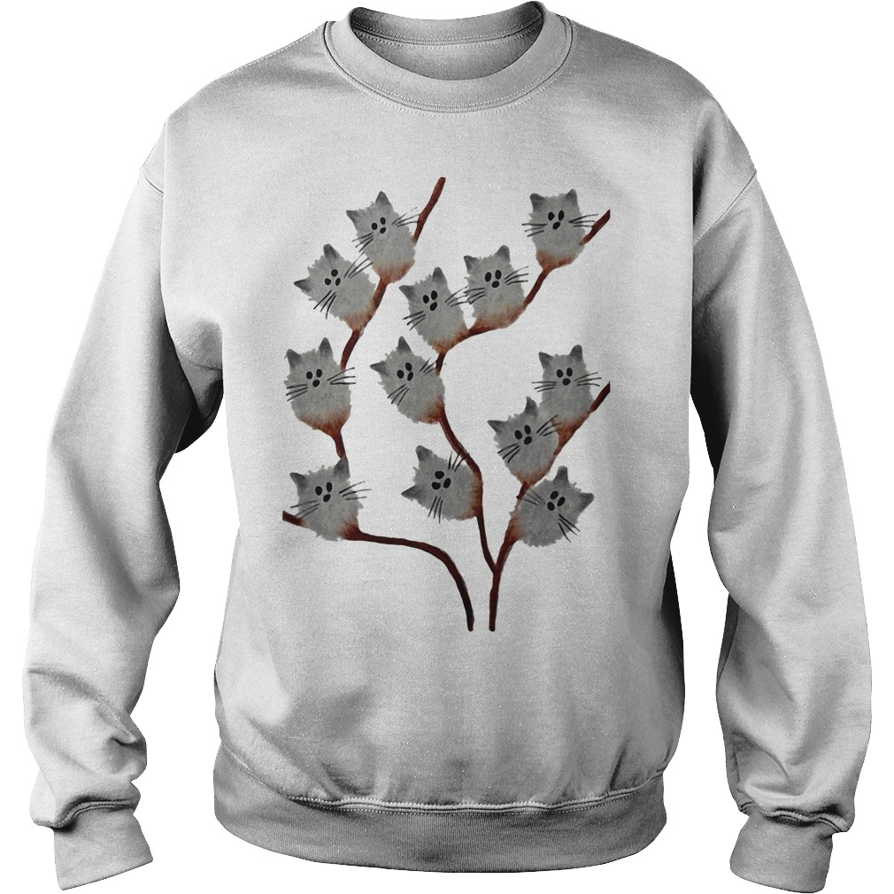 Cats on tree Sweater
