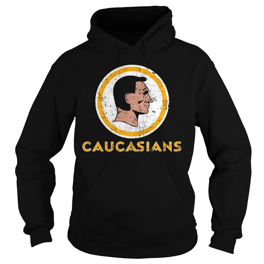 Caucasians Washington redskins Hoodie