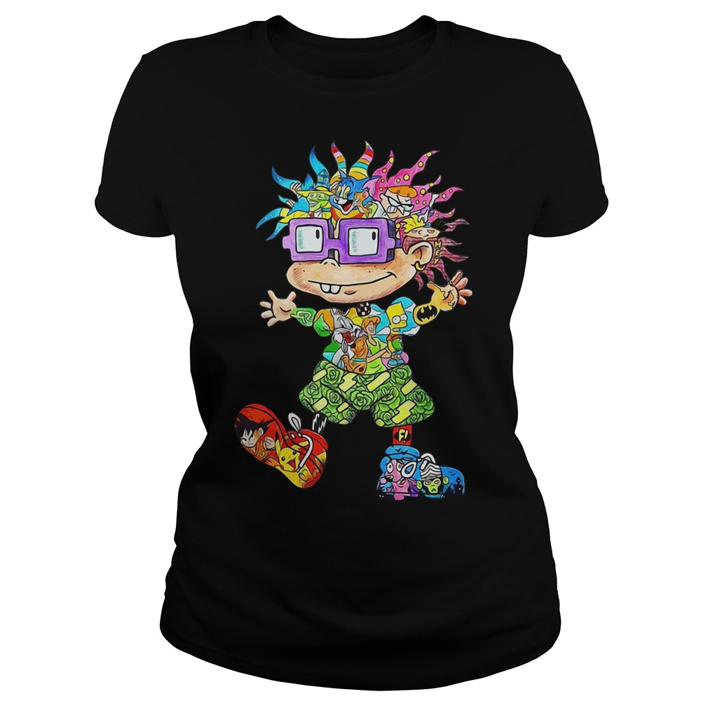 All character Chuckie Finster Ladies tee