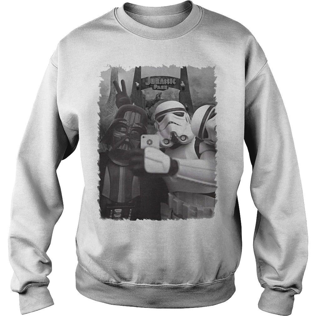 Darth Vader and Stormtrooper in Jurassic Pass Sweater