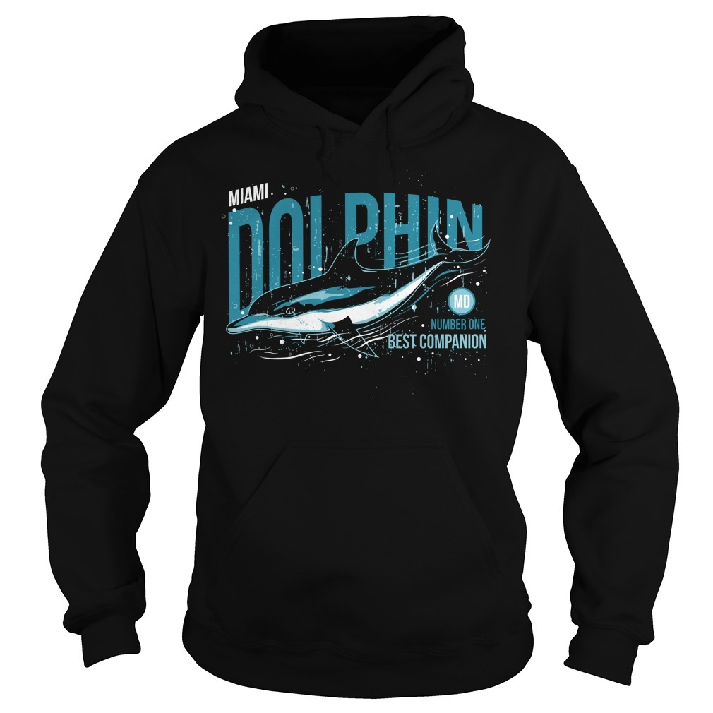 Dolphin number one best companion Hoodie