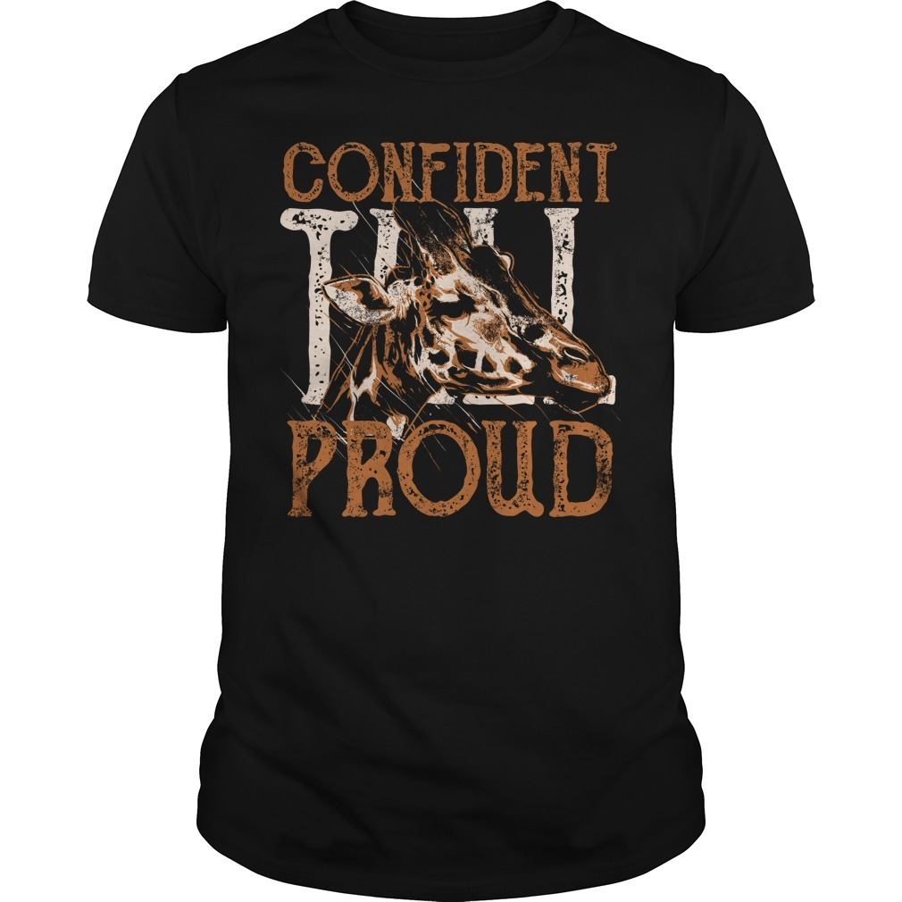 Giraffe confident proud Guys Shirt