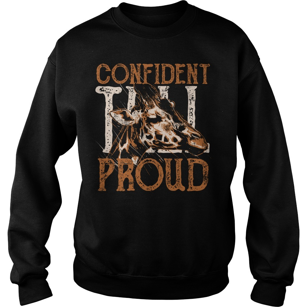 Giraffe confident proud Sweater