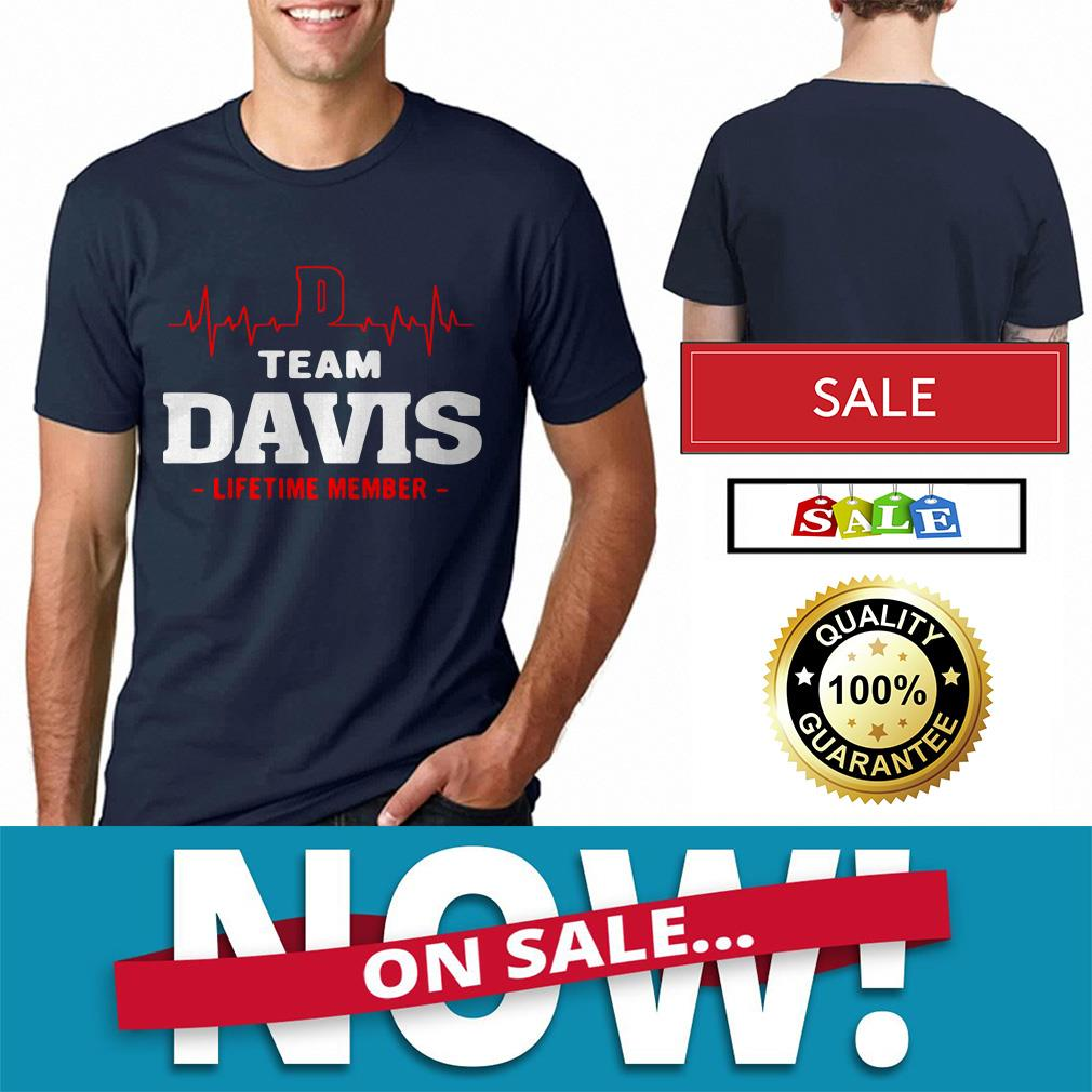 Heart beat team Davis lifetime member shirt