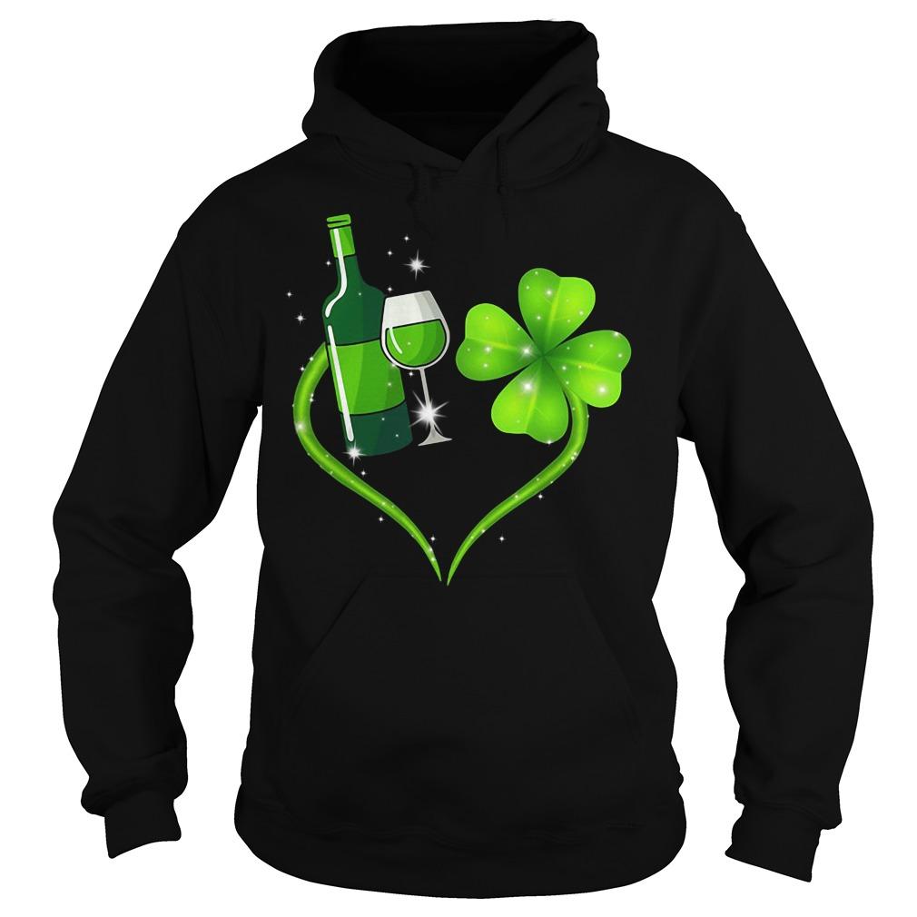 Heart Wine Irish St. Patrick's Day Hoodie