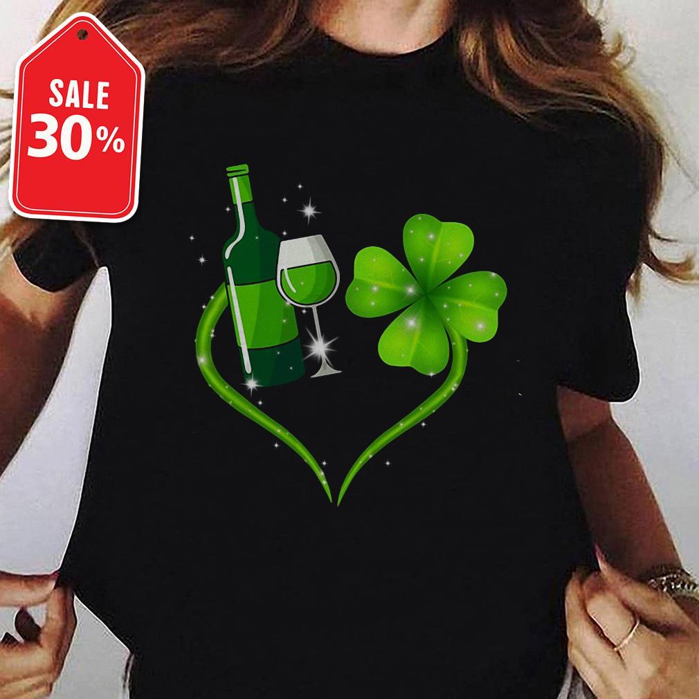 Heart Wine Irish St. Patrick's Day shirt