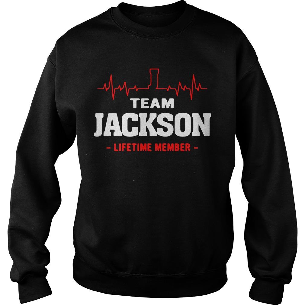 Heartbeat team Jackson lifetime member Sweater