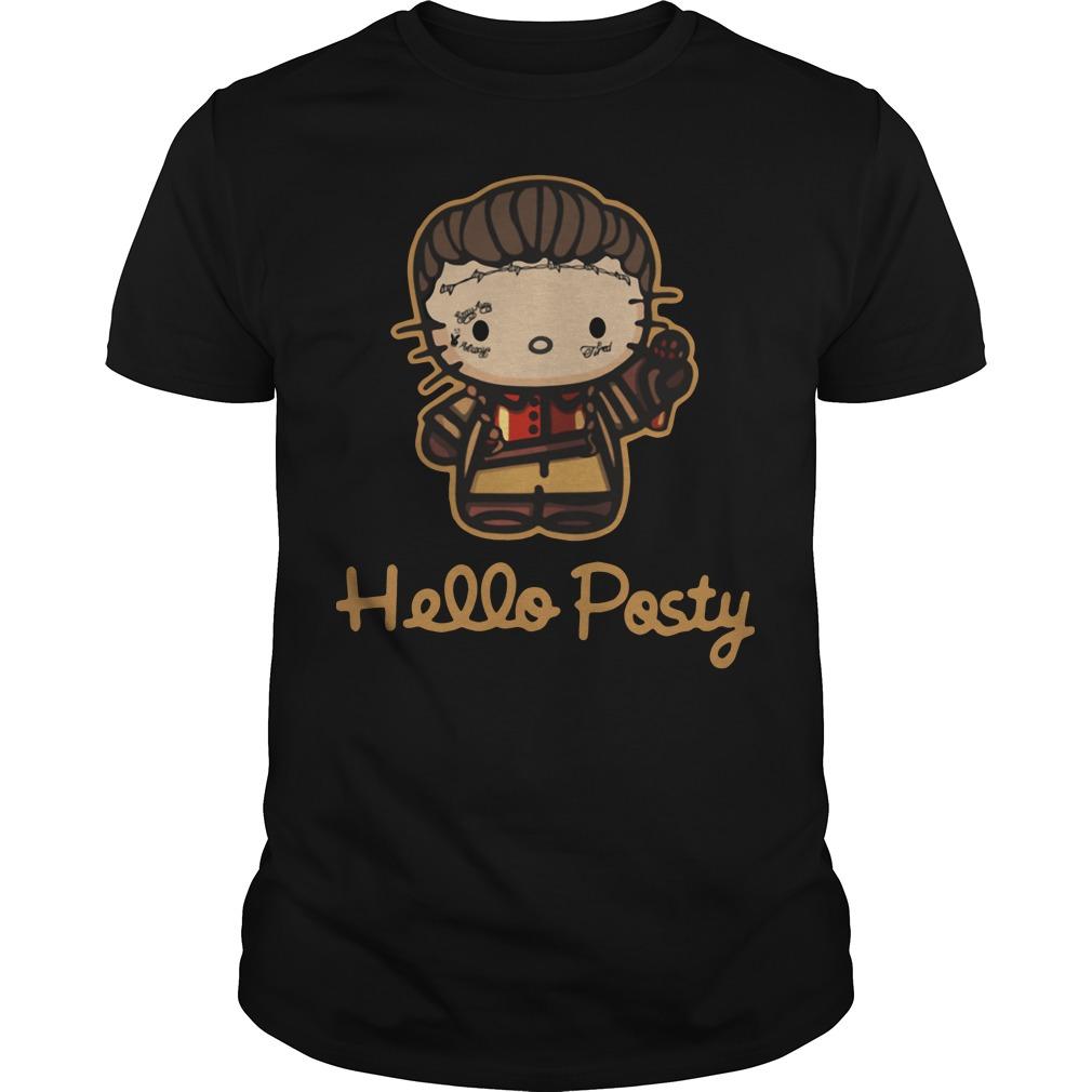 Hello Posty Post Malone shirt