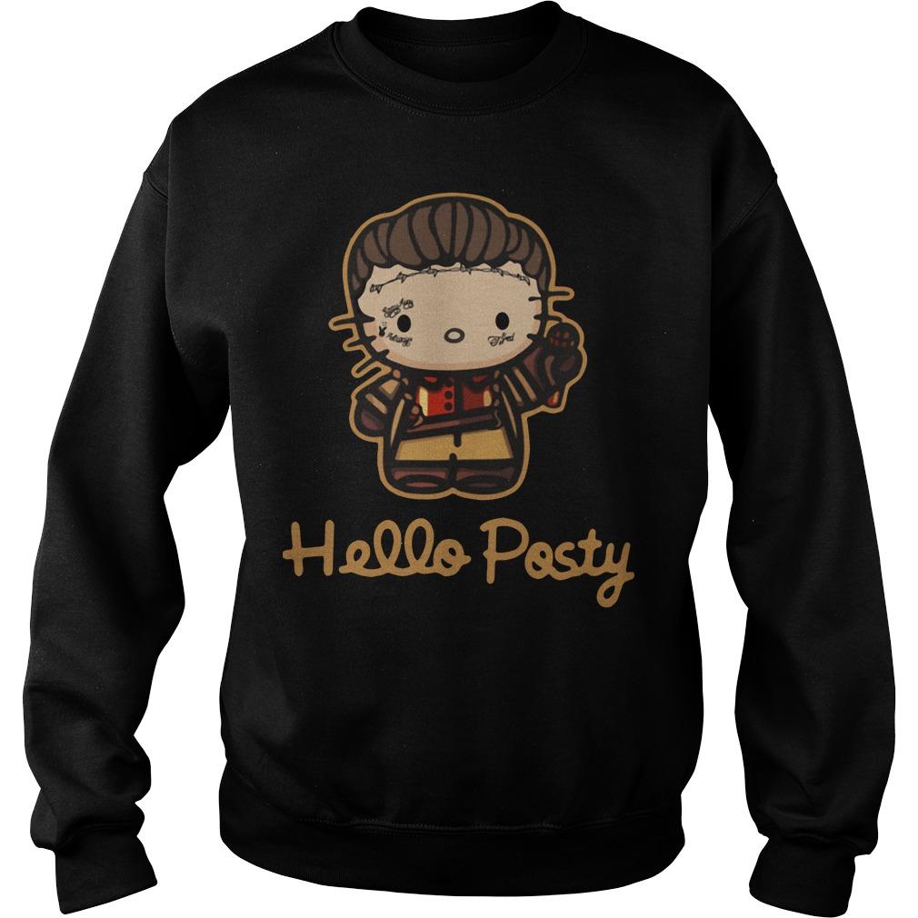 Hello Posty Post Malone Sweater