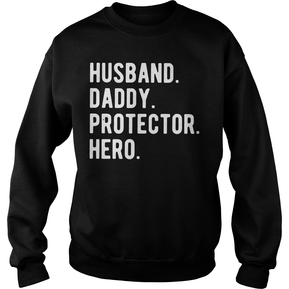 Husband daddy protector hero Sweater