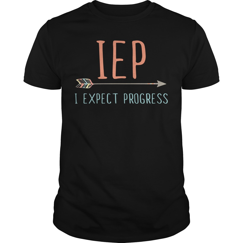 Jep I expect progress shirt