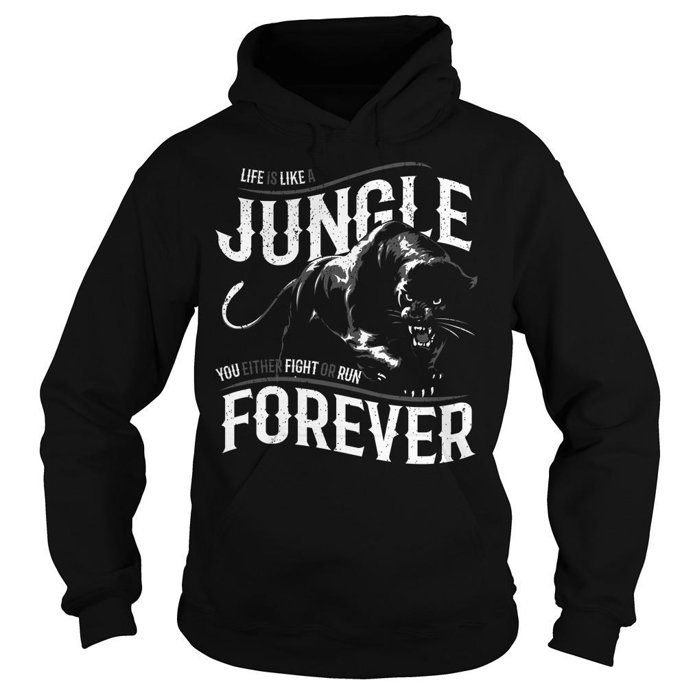 Like is like a jungle black panther Hoodie