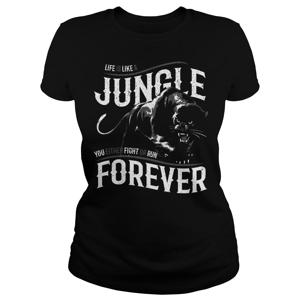 Like is like a jungle black panther Ladies Tee