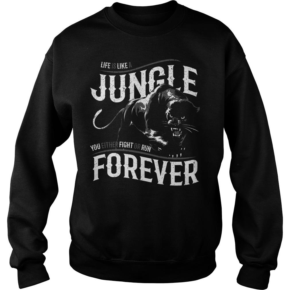 Like is like a jungle black panther Sweater