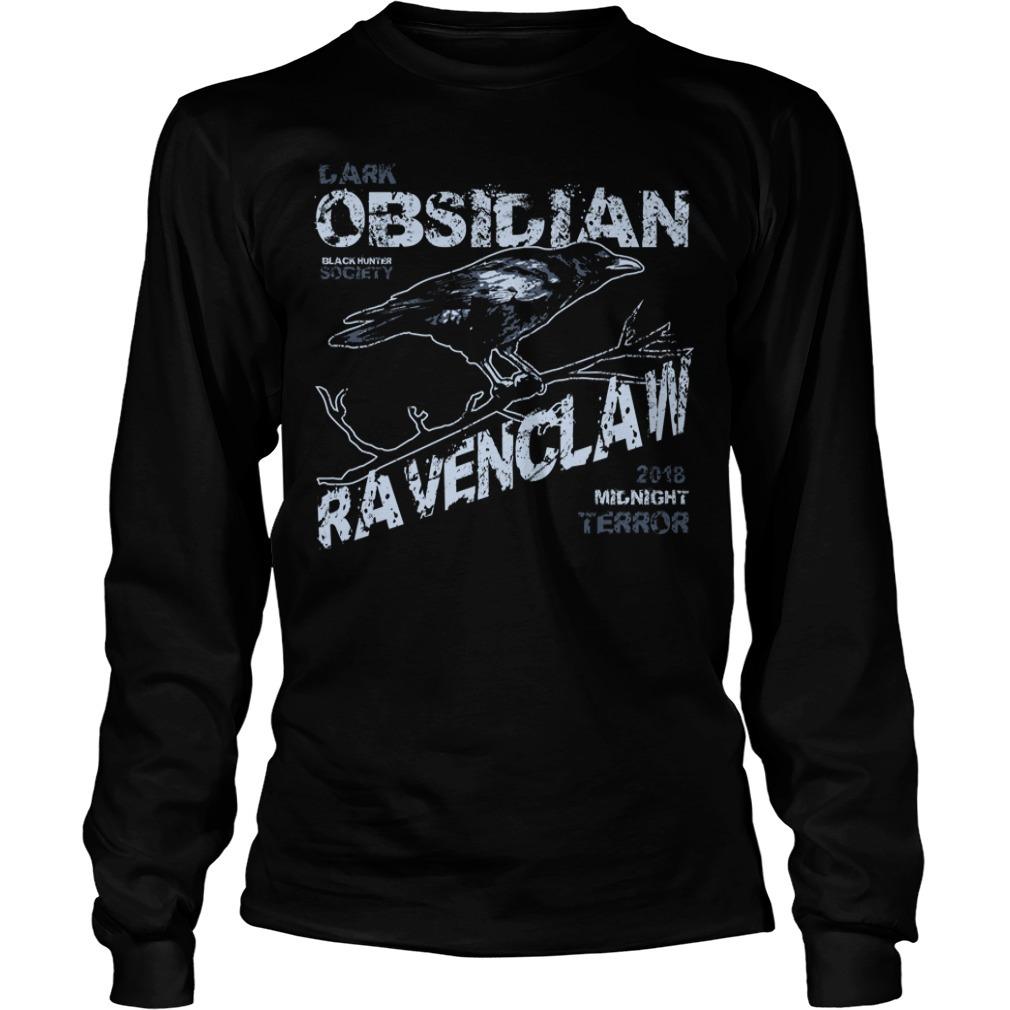 Obsidian ravenclaw Longsleeve Tee