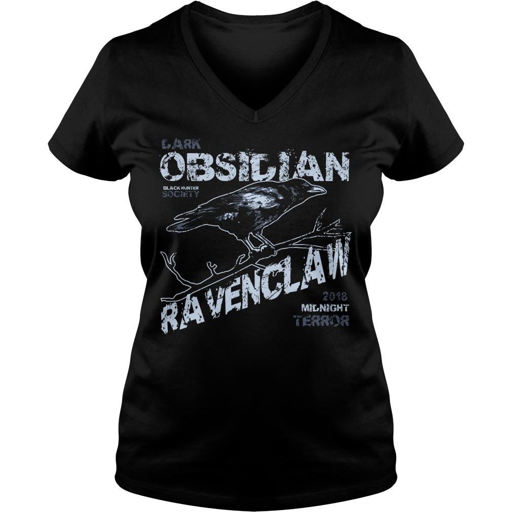 Obsidian ravenclaw V-neck T-shirt