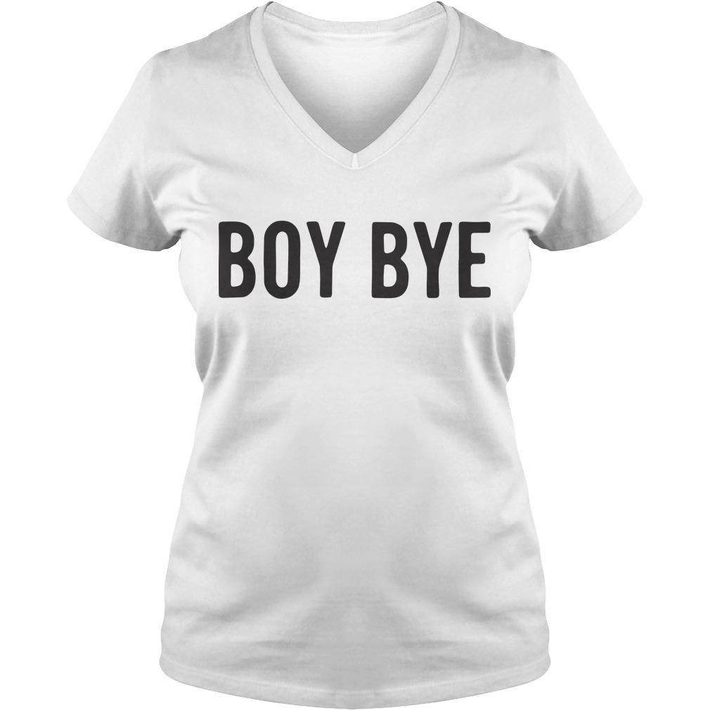Official Boy bye V-neck t-shirt