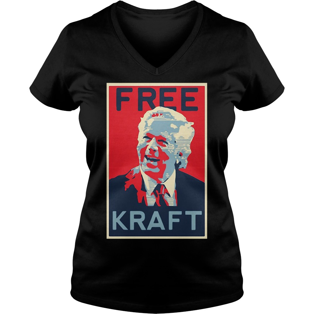 Official Free Kraft V-neck t-shirt