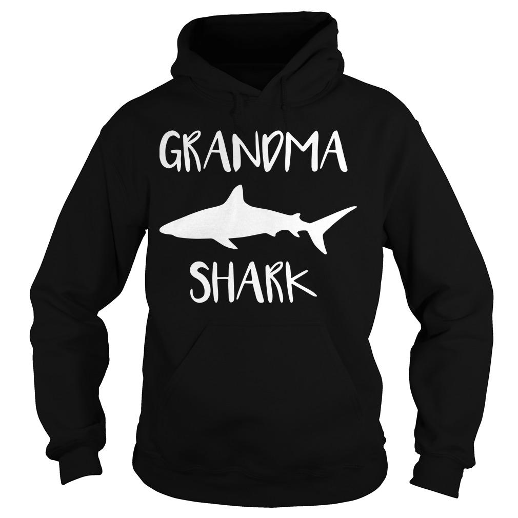 Official Grandma shark Hoodie