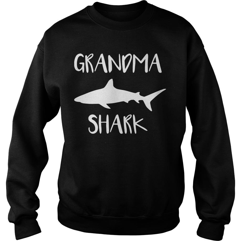 Official Grandma shark Sweater