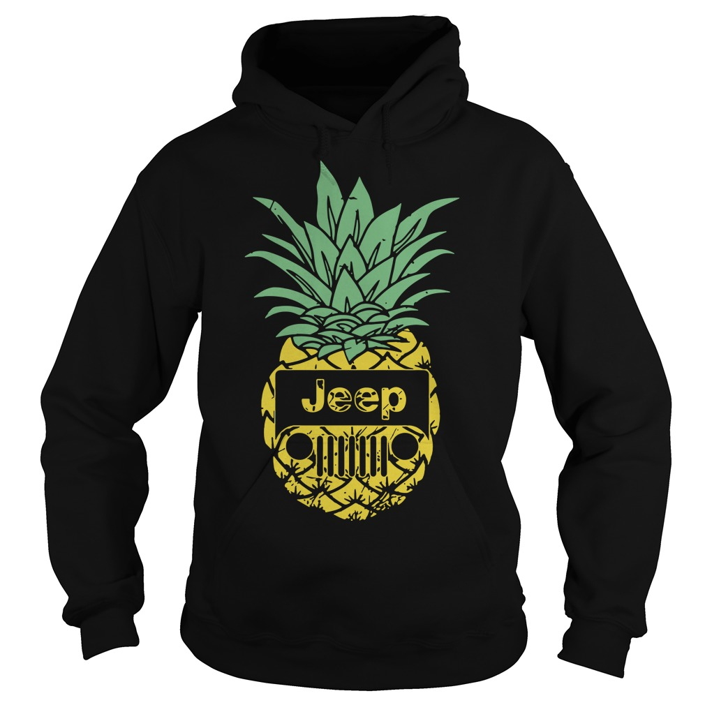Official Pineapple Jeep Hoodie