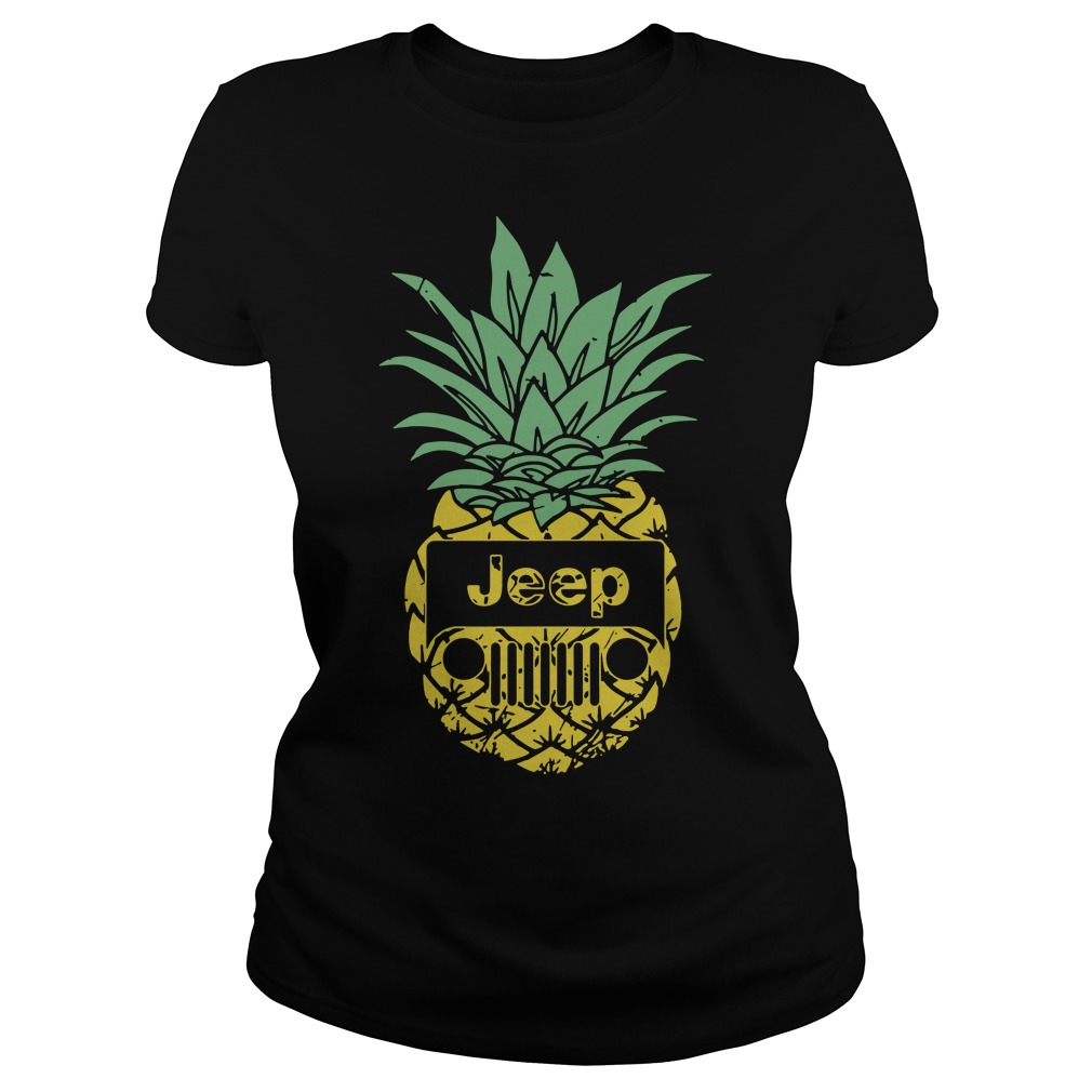 Official Pineapple Jeep Ladies tee
