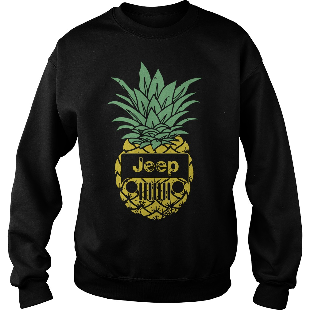 Official Pineapple Jeep Sweater
