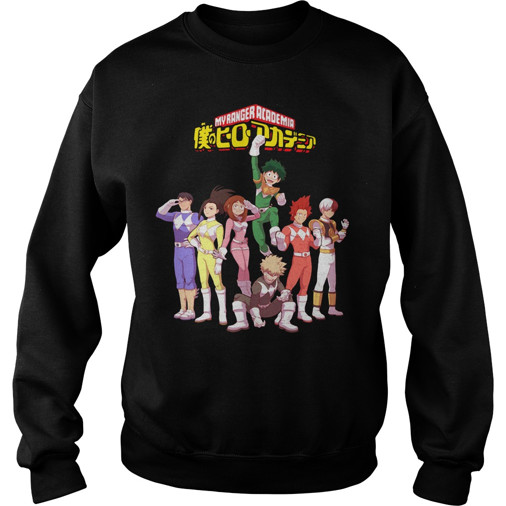 Official My Ranger Academia Sweater