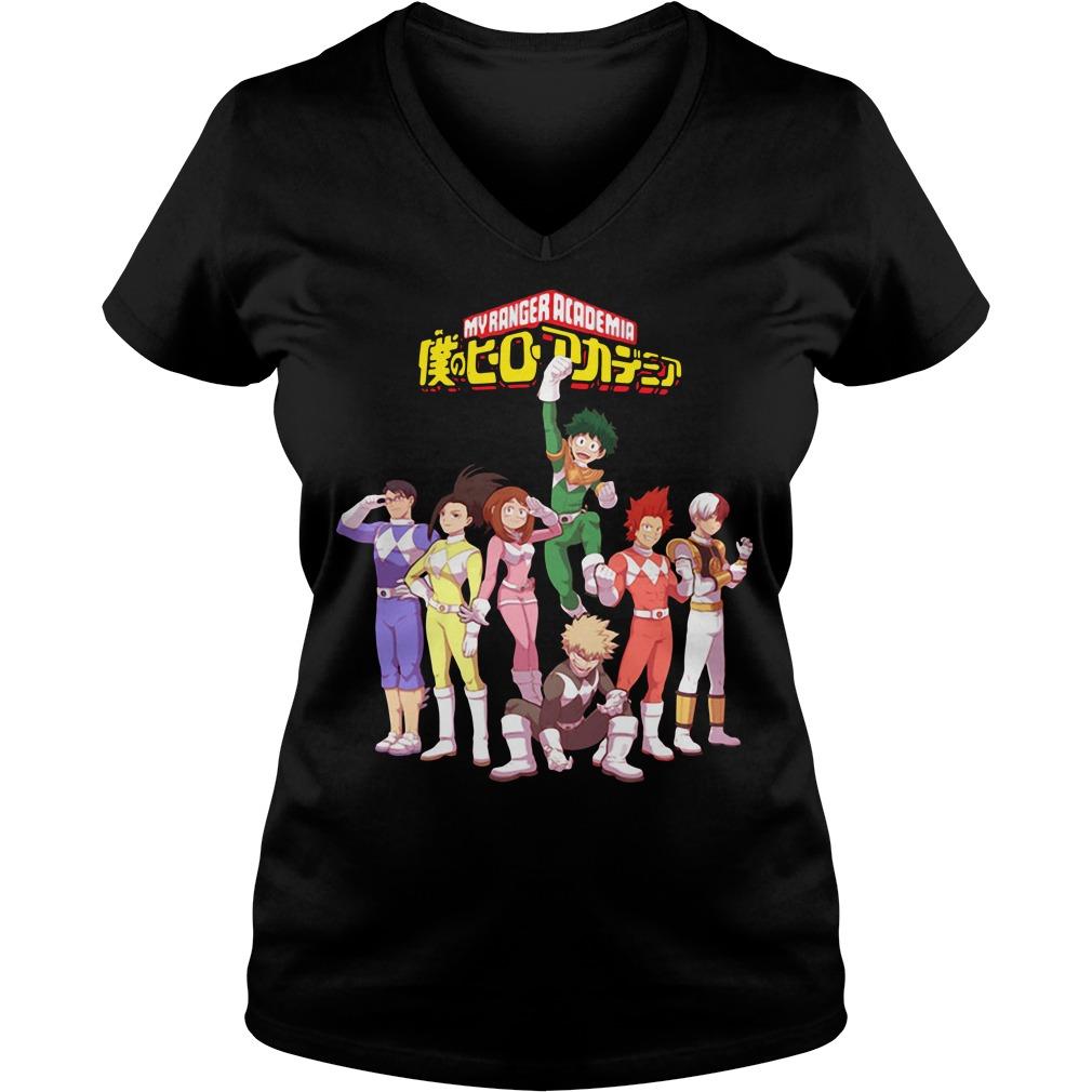 Official My Ranger Academia V-neck t-shirt