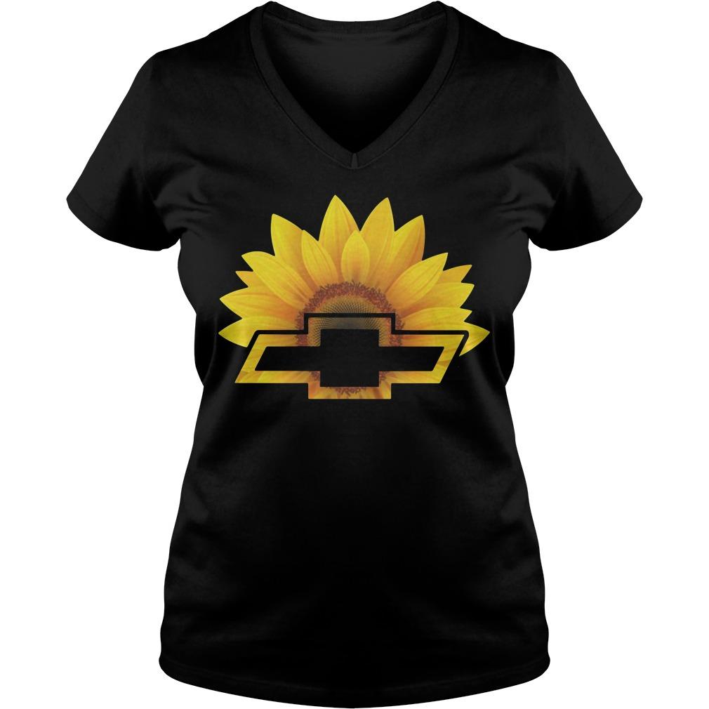 Official Sunflower Chevrolet V-neck t-shirt
