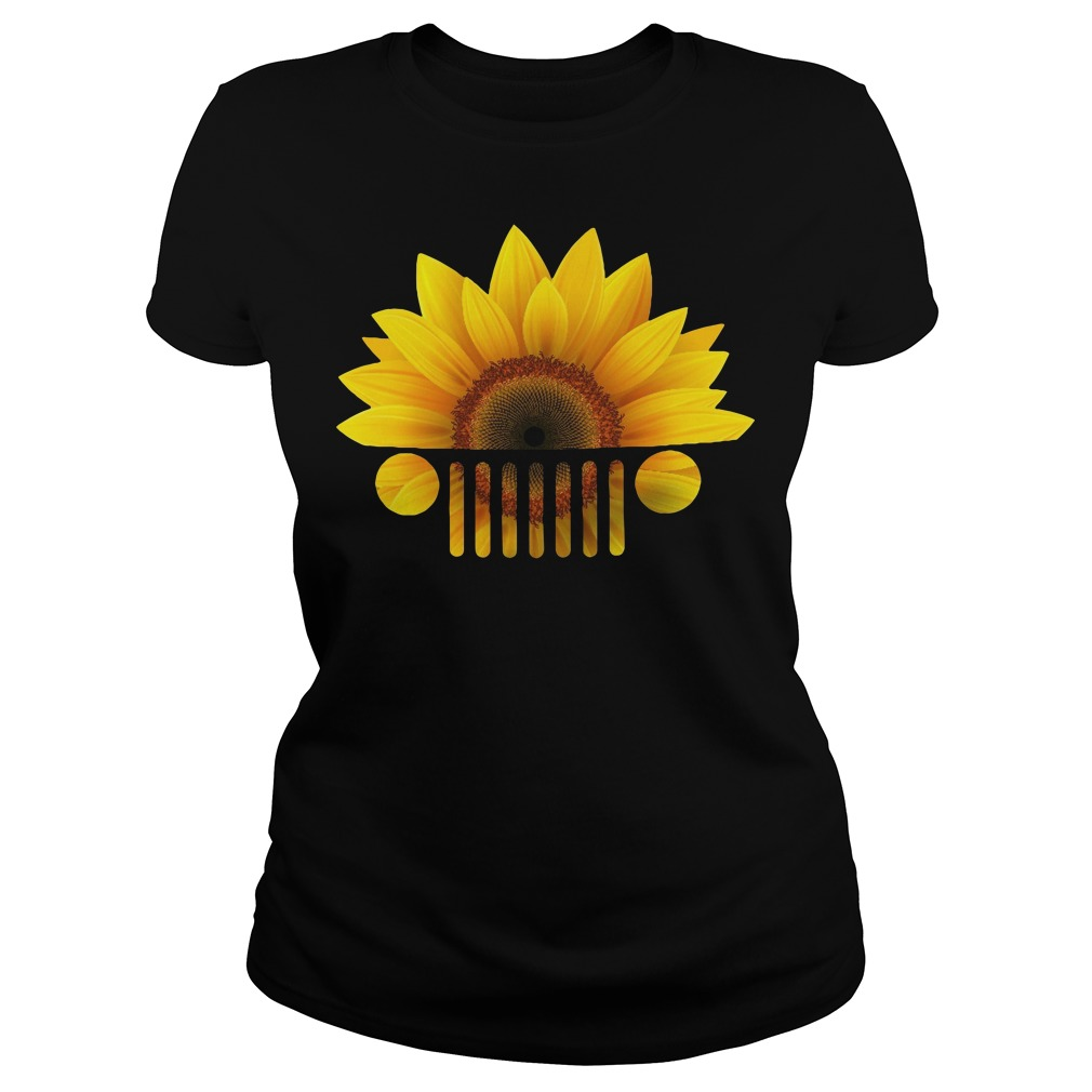 Official Sunflower jeep Ladies tee