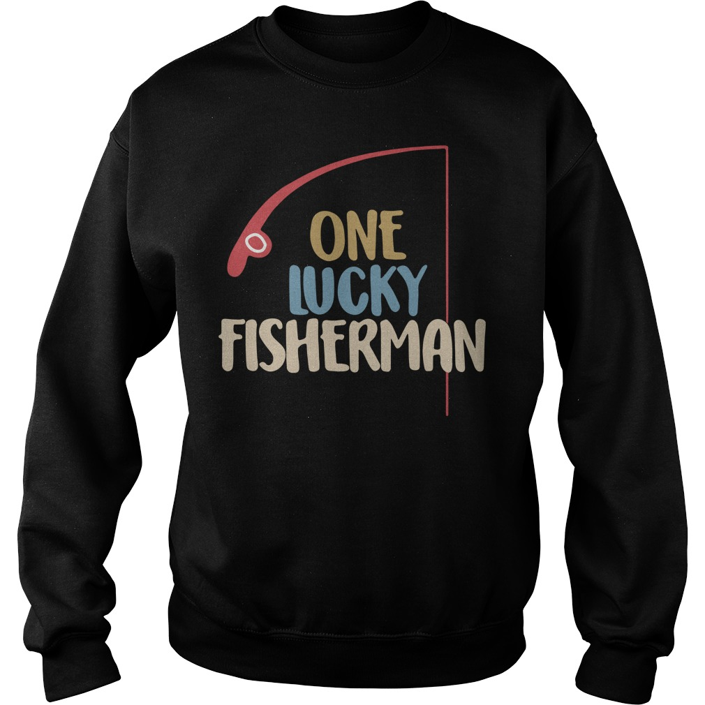 One lucky fisherman Sweater