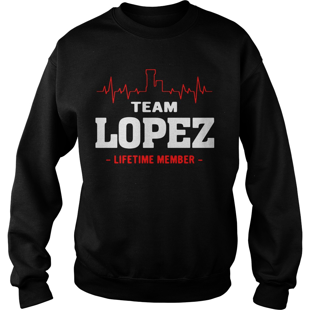 Heartbeat team Lopez lifetime member Sweater