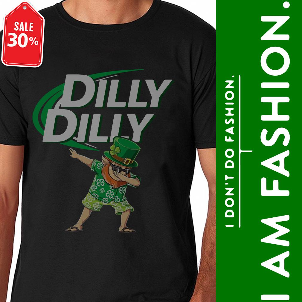 Leprechaun dabbing Dilly Dilly St Patrick's Day shirt
