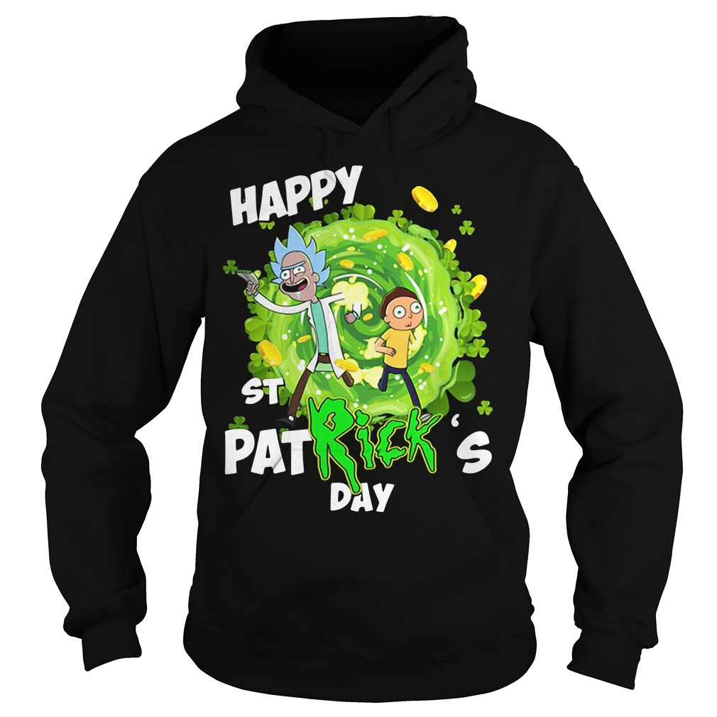 Rick and Morty Happy St. Patrick's day Hoodie