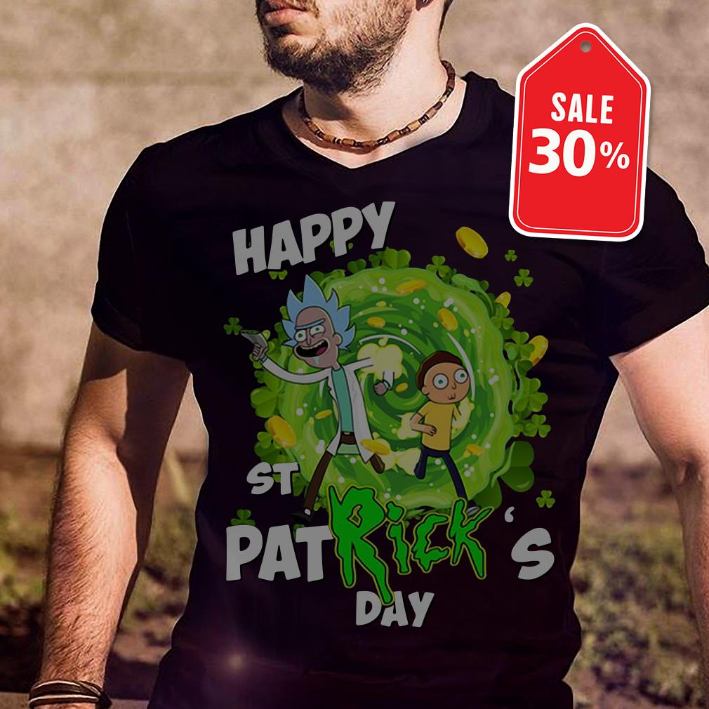 Rick and Morty Happy St. Patrick's day shirt