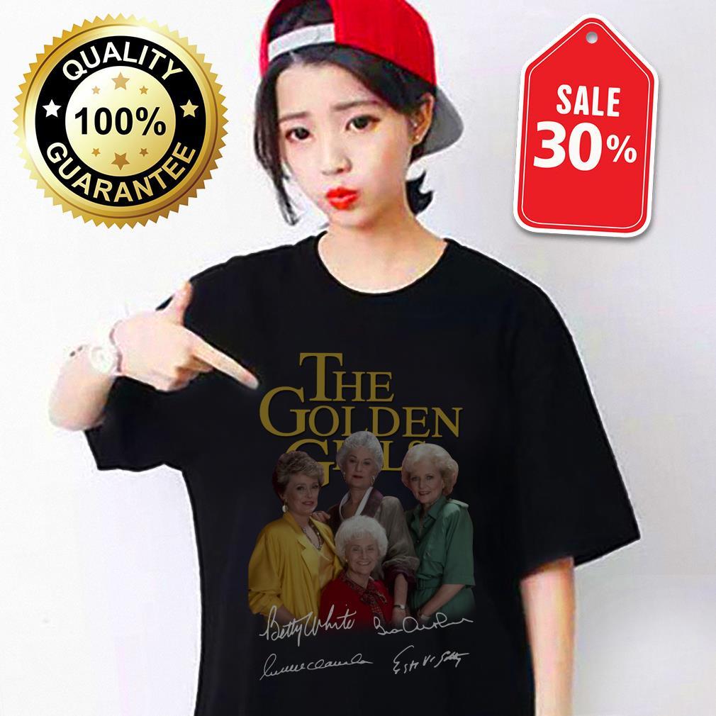The golden girl Betty White Bea Arthur Rue McClanahan Estelle Getty shirt