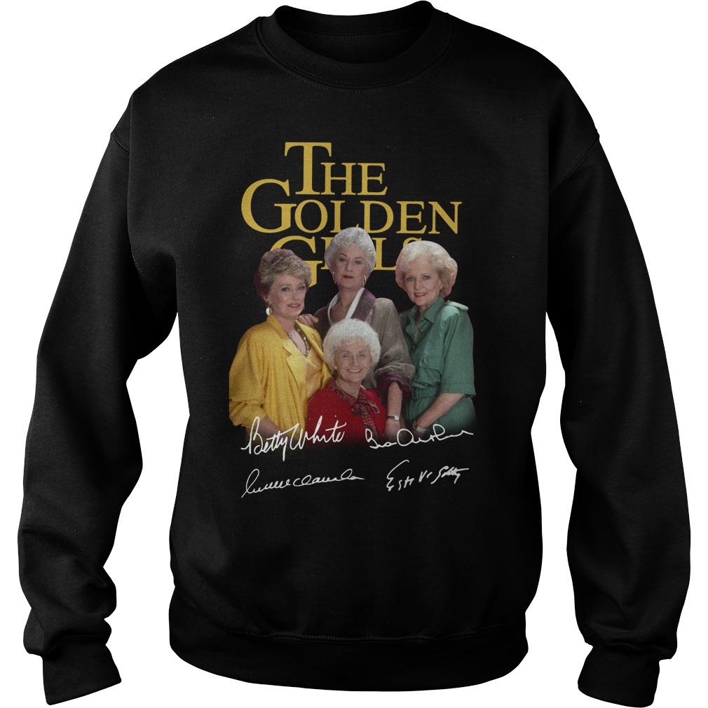 The golden girl Betty White Bea Arthur Rue McClanahan Estelle Getty Sweater