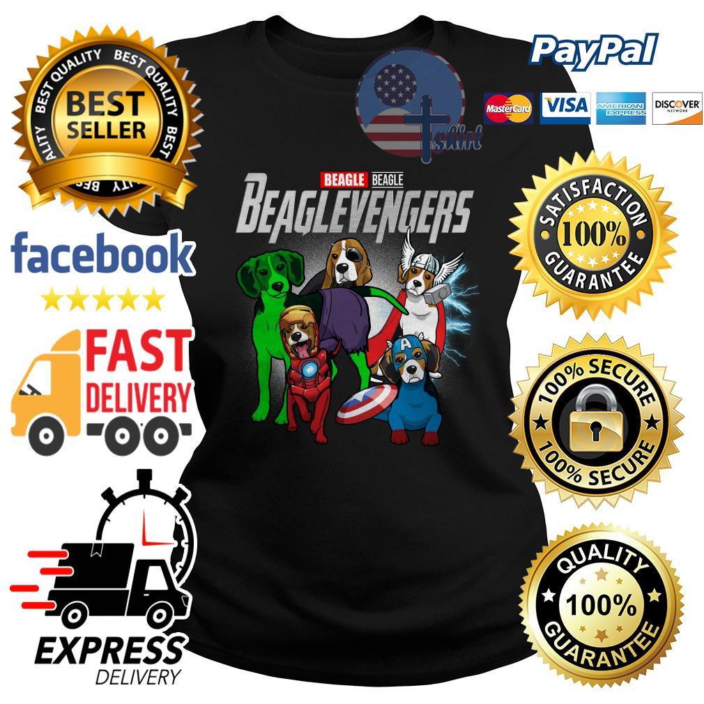 Beagle Beagle Beaglevengers Avenger Ladies tee