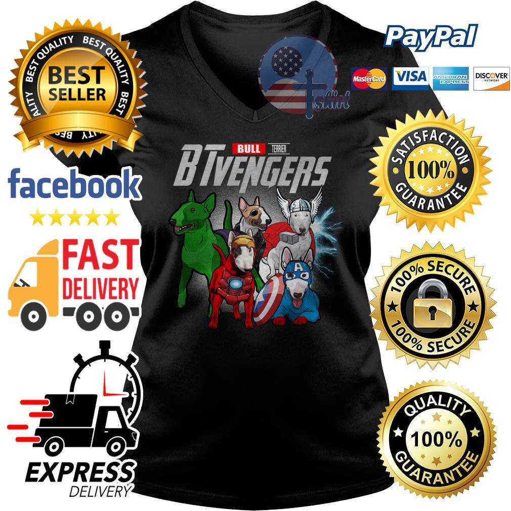 Bull Terrier Btvengers Avenger V-neck t-shirt