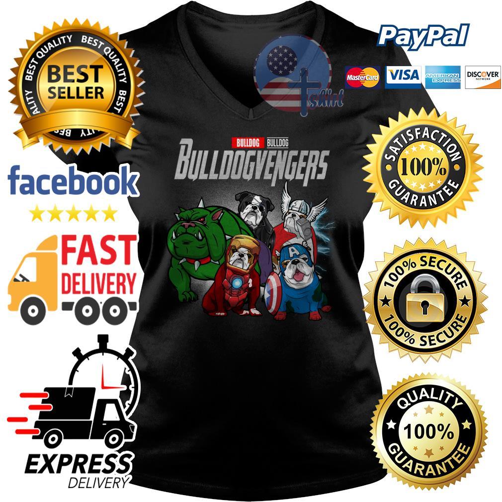 Bulldog Bulldog Bulldogvengers Avenger V-neck t-shirt