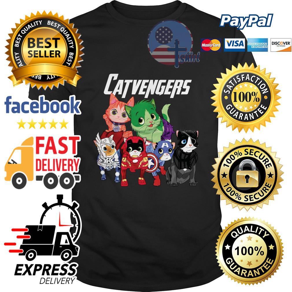 Cat Catvengers Avengers shirt