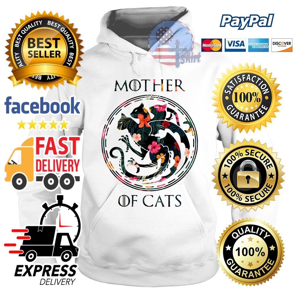 Flower mother of cats Game of Throne Hoodie