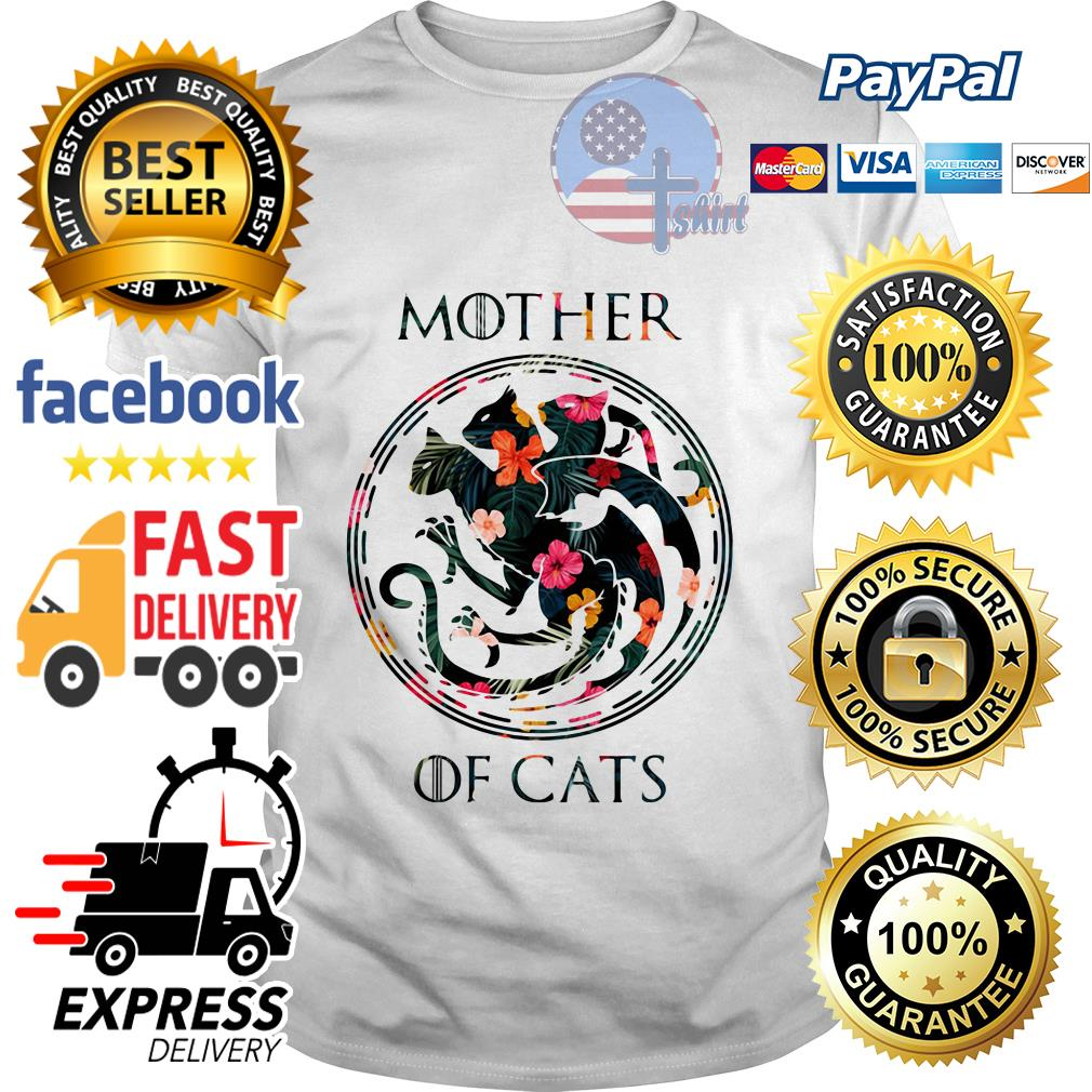 Flower mother of cats Game of Throne shirt
