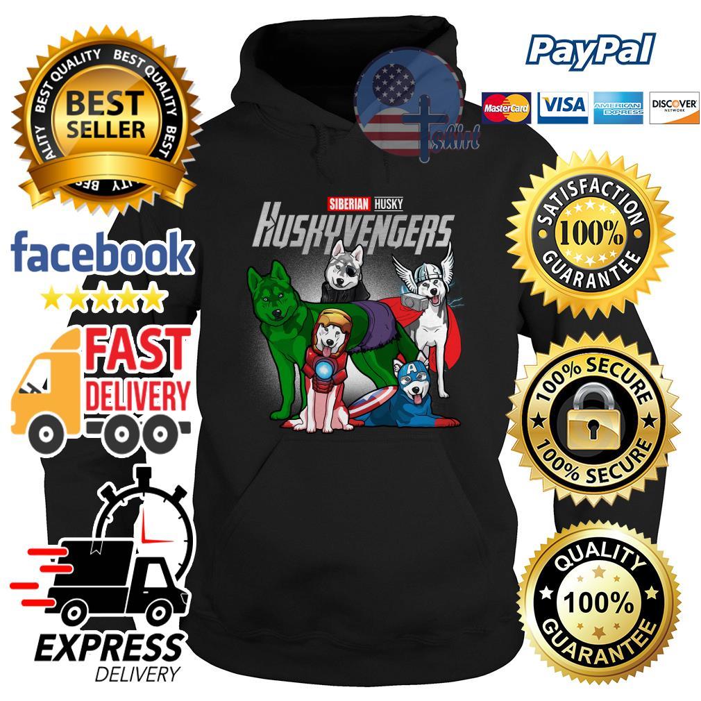Siberian Husky Huskyvengers Avenger Hoodie
