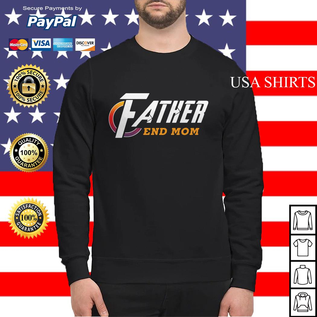 Father end Mom Avengers Endgame Sweater